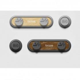 Bcase Klip Kabel Organizer Magnetic Cable Clip - TUP2 - Cream - 6
