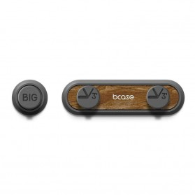 Bcase Klip Kabel Organizer Magnetic Cable Clip - TUP2 - Chocolate