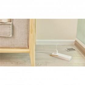 Xiaomi Mijia Smart Power Strip Stop Kontak 4 Electric Plug + 3 Port USB 5V 2.1A Fast Charging - White - 8