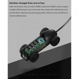 Xiaomi Bcase USB Hub Car Shape 4 Port - DSHJ-B-1903 - Black - 9