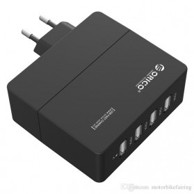 Orico USB Wall Travel Charger Adapter 4 Port - DCA-4U - Black