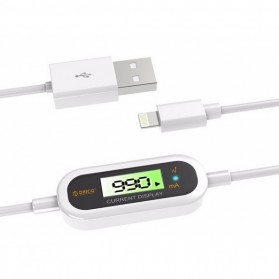 Orico High Voltage Protection Apple Lightning to USB Cable iOS 10 Compatible - LCD-10 - White
