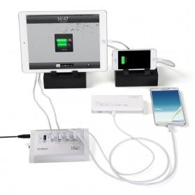 Orico Aluminium USB 3.0 High Speed HUB 3 Port + 2 Charging Port - UH3C2 - Silver - 4