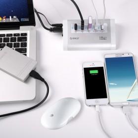Orico Aluminium USB 3.0 High Speed HUB 3 Port + 2 Charging Port - UH3C2 - Silver - 6