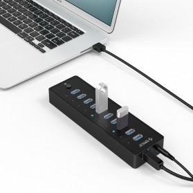 ORICO 10 Port USB 3.0 HUB with 1M USB 3.0 Cable - P10-U3 - Black - 2