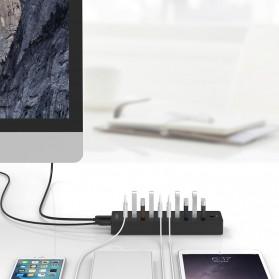 ORICO 10 Port USB 3.0 HUB with 1M USB 3.0 Cable - P10-U3 - Black - 3