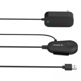 Orico USB 3.0 to Sata Cable Adapter with Power Adapter - 35UTS - Black - 5