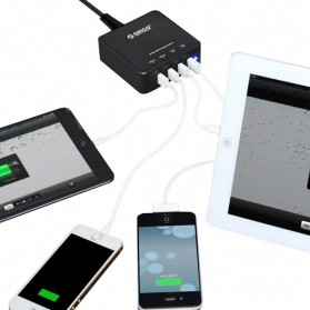 Orico USB Wall Travel Charger Hub 4 Port - DCE-4U - White - 2