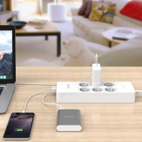 Orico Wall Charger with 6 AC Outlet and 5 USB Super Charger Port - HPC-6A5U - White - 4
