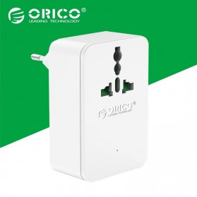 Orico 20W Universal Travel Power Plug with 4 USB Charging Ports - S4U - White