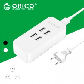 Orico Smart Desktop Charger 4 Port - DCV-4U - White