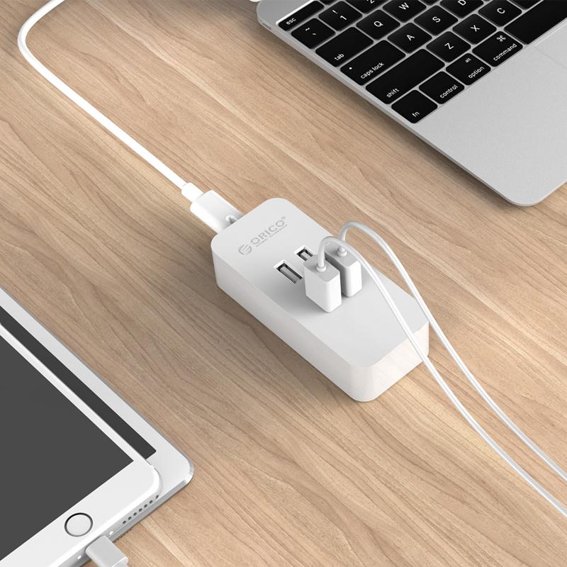 orico smart desktop charger 4 port dcv 4u white. Black Bedroom Furniture Sets. Home Design Ideas