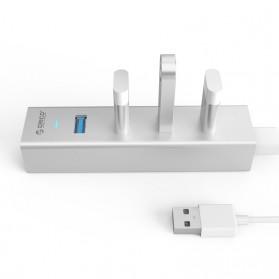 Orico Alumium USB 3.0 High Speed HUB 4 Port - H4013-U3 - Silver - 3