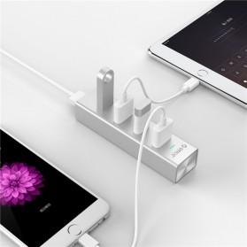 Orico Alumium USB 3.0 High Speed HUB 4 Port - H4013-U3 - Silver - 5