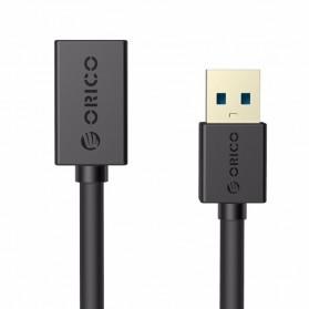 Orico Kabel USB 3.0 ke USB 3.0 Female Round 1.5 Meter - CER3-15 - Black