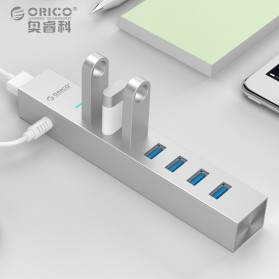 Orico Aluminium USB 3.0 Type A / C High Speed HUB 7 Port - ASH7-U3 - Silver - 4