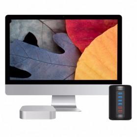 Orico Mac Style USB 3.0 High Speed HUB 4 Port and 2 Charging Port - RH4CS - Black - 6