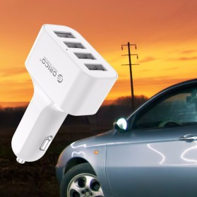 Orico USB Car Charger 4 Port - UCH-4U - White - 3