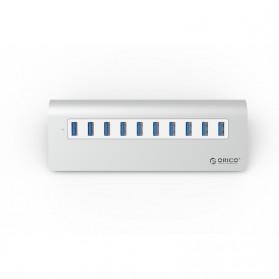 Orico Aluminium USB 3.0 High Speed HUB 10 Port - M3H10-V1 - Silver - 2