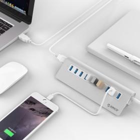 Orico Aluminium USB 3.0 High Speed HUB 10 Port - M3H10-V1 - Silver - 3