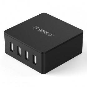 ORICO 4 Port Smart Desktop Charger - CSK-4U-V1 - Black