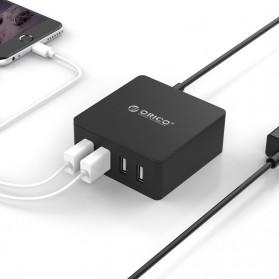 ORICO 4 Port Smart Desktop Charger - CSK-4U-V1 - Black - 2