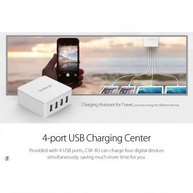 ORICO 4 Port Smart Desktop Charger - CSK-4U-V1 - Black - 4