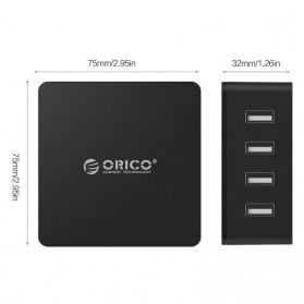 ORICO 4 Port Smart Desktop Charger - CSK-4U-V1 - Black - 8