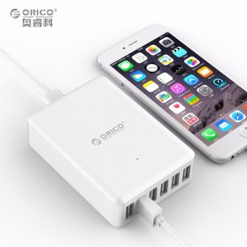 Orico USB Wall Travel Charger Hub 6 Port - DCAP-6S - White - 2