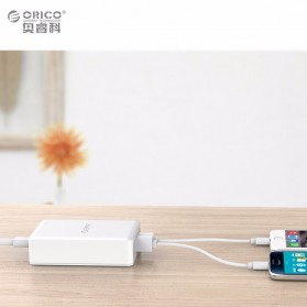 Orico USB Wall Travel Charger Hub 6 Port - DCAP-6S - White - 3