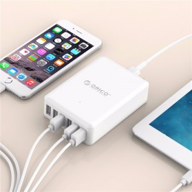 Orico USB Wall Travel Charger Hub 6 Port - DCAP-6S - White - 4