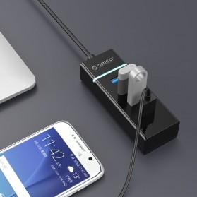 Orico Ultra Mini USB 3.0 High Speed HUB 4 Port - W6PH4-U3-V1 - Black - 3