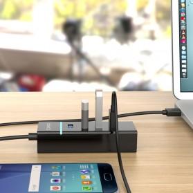 Orico Ultra Mini USB 3.0 High Speed HUB 4 Port - W6PH4-U3-V1 - Black - 4