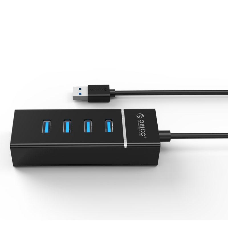 ... Orico Ultra Mini USB 3.0 High Speed HUB 4 Port - W6PH4-U3-V1 ...