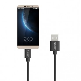 Orico USB 2.0 to USB Type C Cable 20cm - ECU-02 - Black - 2