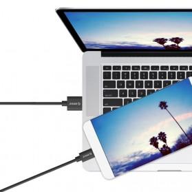 Orico USB 2.0 to USB Type C Cable 20cm - ECU-02 - Black - 3
