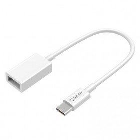 Orico USB Type C to Female USB 3.0 Cable Adapter 15cm - CT3-15 - White