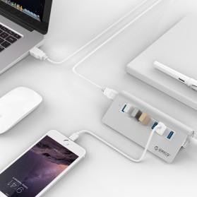 Orico Aluminium USB 3.0 High Speed HUB 7 Port - M3H7-V1 - Silver - 3