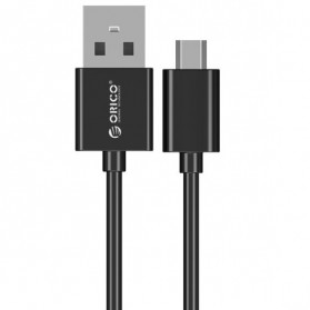 Orico Micro USB to USB 2.0 USB Cable 50cm - ADC-05-V2 - Black - 1