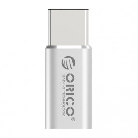 Orico Micro USB to USB 3.1 Type C Adapter Converter - CTM1 - Silver - 3