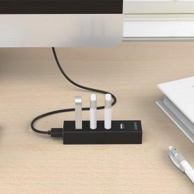Orico USB 2.0 High Speed HUB 4 Port 30cm Cable - H4013-U2 - Black - 4