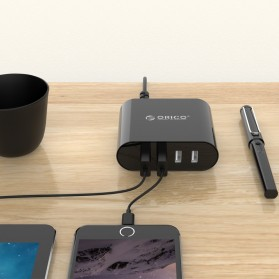 Orico USB Wall Travel Charger Hub 4 Port - DCH-4U-V1 - Black - 3