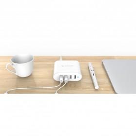 Orico USB Wall Travel Charger Hub 4 Port - DCH-4U-V1 - White - 2
