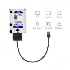 Orico USB 3.0 to SATA 3.0 Hard Drive Adapter - 27UTS - Black - 9