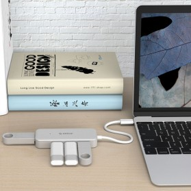 Orico USB Hub 4 Port USB Type C - TC4U - Silver - 5
