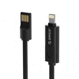 Orico Kabel Data 2 in 1 Lightning & Micro USB 2.1A - Black