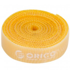 Orico Cable Clip Velcro 1M - CBT-1S - Yellow