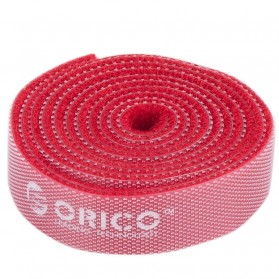 Orico Cable Clip Velcro 1M - CBT-1S - Red