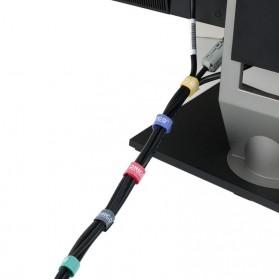 Orico Cable Clip Velcro 1M 5 PCS - CBT-5S - Multi-Color - 4