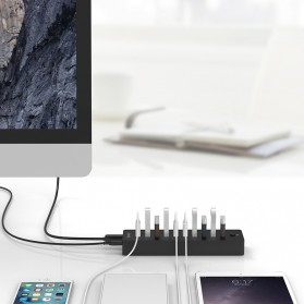 ORICO USB Hub 2.0 10 Port - P10-U2 - Black - 3